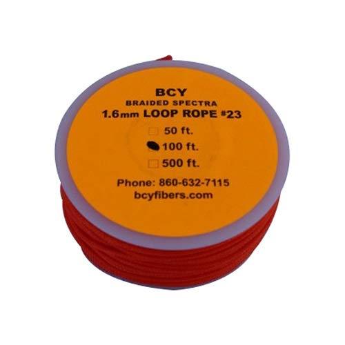 BCY Size 23 Loop Rope Neon Orange 100 ft.