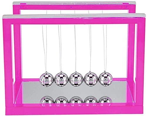 zyh Bola de Equilibrio de Acero de Cuna de Newton,péndulo de Newton (1 artículo)