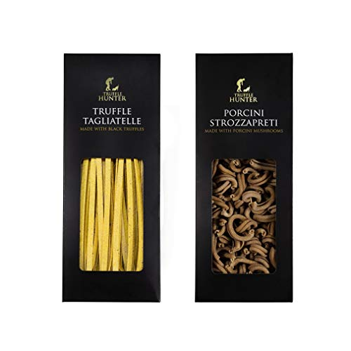 TruffleHunter Pasta Set - Porcini Strozzapreti 250g Pasta de Trufa & Etiqueta De trufa Pasta (250g)
