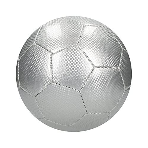 Balón de fútbol de carbono para interior y exterior, impermeable, tamaño 5