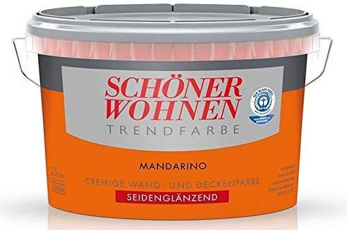 Schöner Wohnen Trendfarben / Seidenglänzend / Farbton Mandarino / 1 l