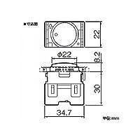 パナソニック(Panasonic) 住設機器用埋込ほたるスイッチ 黒 WCF3003BK