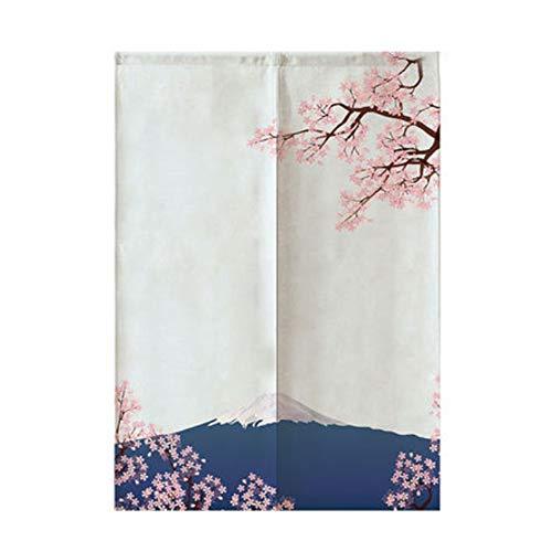 Maya Star - Cortina de puerta japonesa Noren cortina japonesa (85 x 150 cm)