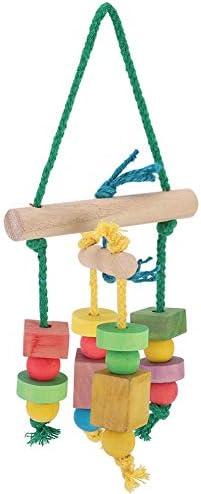 Vogel kauwspeelgoed duurzaam speelspeelgoed handige slijtvaste klim voor entertainment Oefening hangen