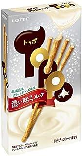 ロッテ トッポ(濃い味ミルク) 2袋入 ×10個