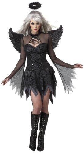 California Costumes Fallen Angel Dress, Black, Medium Costume