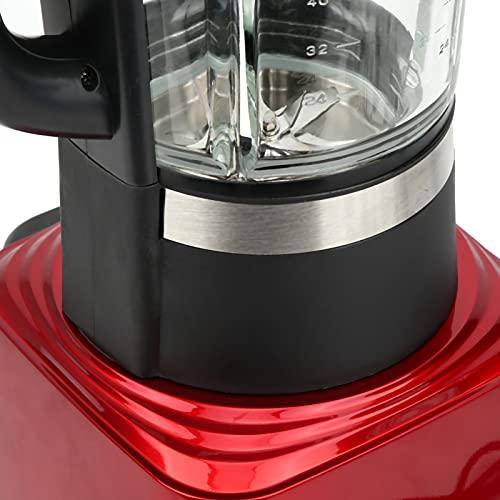 Food Blender, Touch Panel Professional Ice Crusher, Multi‑Functional for Complementary Food Milkshakes Soy Milk Porridge(Pink)