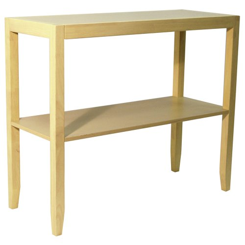 WATSONS Anywhere - Table Basse Console en Massif- Finition Naturelle