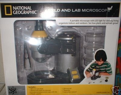 National Geographic NG MICROSCOP FLD LAB w/BAG