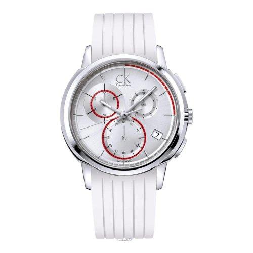 Calvin Klein Reloj Analógico para Hombre de Cuarzo con Correa en Caucho K1V27938