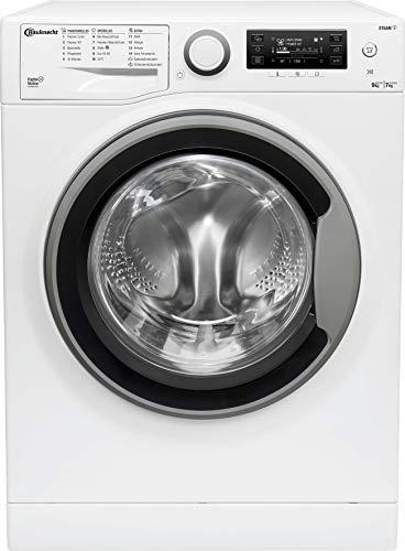 Bauknecht WATK Sense 97D6 N EU Waschtrockner / 9/7kg Waschen/Trocknen / Flecken 40° / Dampf-Programm / Dynamic Inverter-Motor / Wolle-Programm / Nachlegefunktion / Kurzprogramm 45 Min