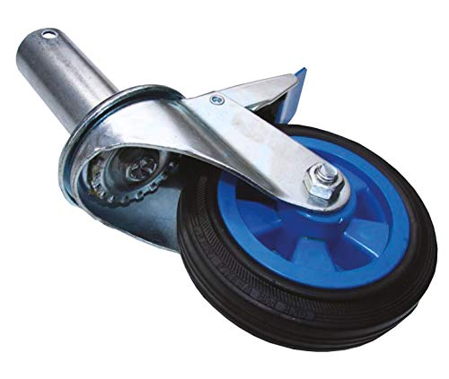 Rueda Industrial Andamio (Macho 46mm) 150 mm rueda andamio