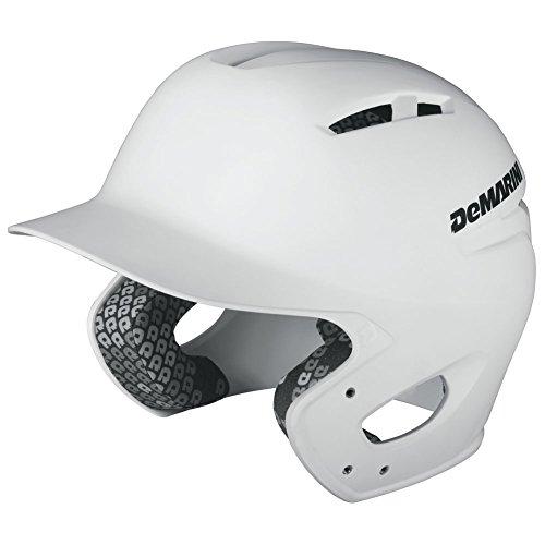 DeMarini Paradox Youth Batting Helmet, White, Youth