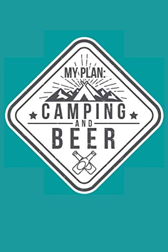 My Plan Camping and Beer: 2021 Planners for Campers (Beer Lovers Gifts)