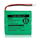 Replacement 29580-10 Battery for Summer Infant Baby Monitor 29580 29590 29610 29620 29630 29710 29740 29790 29940 36014 36034 Ni-MH AAA Size 4.8V 800mAh