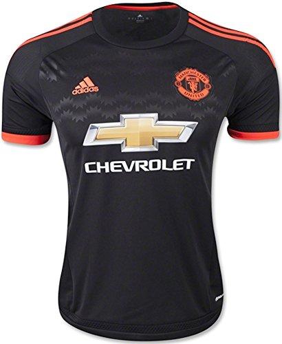 adidas Manchester United FC 3rd Jersey-Black, Unisex, Black