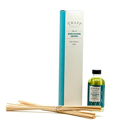 TRAPP Fragrances Reed Diffuser Refill Kit, No. 13 Bob's Flower Shoppe, 4 Ounce
