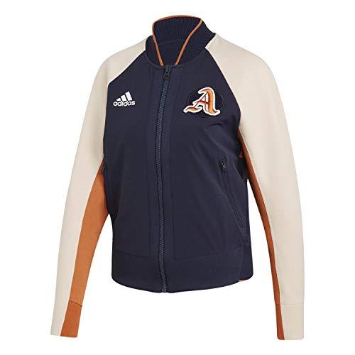 adidas Damen Bomberjacke VRCT Jacket Legend Ink/Linen XXS