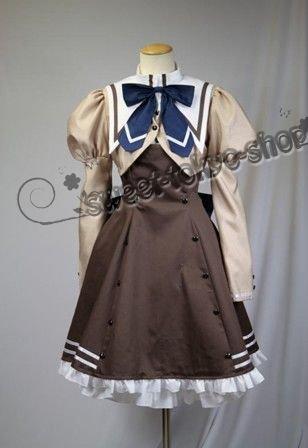 高品質コスプレ衣装 あかね色に染まる坂風女子制服  コスチューム、コスプレ