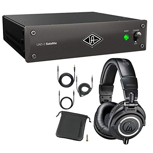 Universal Audio UAD-2 Satellite Thunderbolt OCTO Core, Audio Technica ATH-M50X Bundle