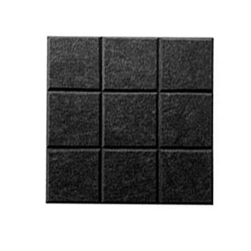 Haitee - Tablón de anuncios de azulejos de fieltro, pizarras de notas, cuadradas autoadhesivas para notas de fotos, decoración de escritorio de notas (30 x 30 cm)
