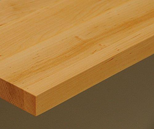 Tischplatte Holz massiv Erle 25mm geölt oder unbehandelt, Esstisch Couchtisch (Holz geölt, 110 x 70)
