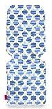 Maclaren colchoneta universal para asiento - Beach Ball Stripe Blue, Accesorio de doble cara fácil de poner y quitar en todas las sillas de paseo tipo paraguas, Transpirable y lavable en lavadora