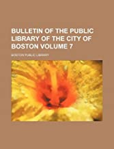 Bulletin of the Public Library of the Ci