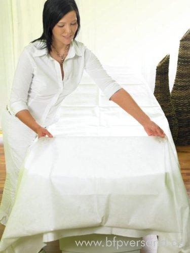 bfp 10er Pack Hygiene-Auflage für Massagebank/Massageliege (waschbar!)