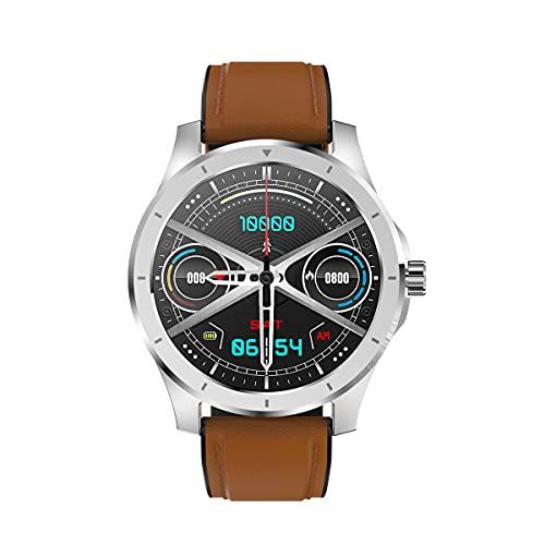 QNMM Reloj Inteligente MX10 Hombres Mujeres, Pantalla de 1,28 Pulgadas con Sangre Tipo de Monitorización de Presión del Sueño del Corazón, IP68 a Prueba De Agua Llamada Bluetooth SmartWatch