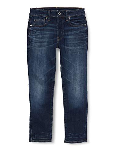 G-STAR RAW 3301 Slim Fit Vaqueros, Ultra Dk Aged Blue, 24W / 26L para Hombre