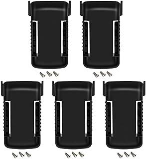 SUnMilY - Soporte de soporte para herramientas para batería de níquel Black Decker (18 V, 5 paquetes)
