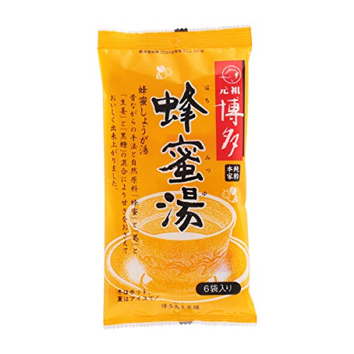 [シンセイ商事鳥土本舗] 生姜湯 博多蜂蜜湯 15g×6袋