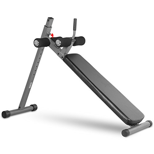 XMark 12-Position Ergonomic Ab Workout Bench