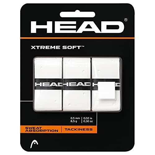 Head Xtremesoft Overgrip de Tenis, Unisex, Blanco, S