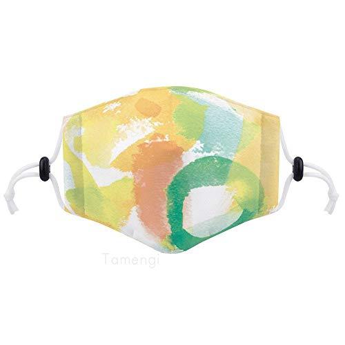 Ademend stof mond gezicht bedekken, kleur water poeder verstelbare oorlus half gezicht schild wasbaar gezicht Cover voor volwassenen