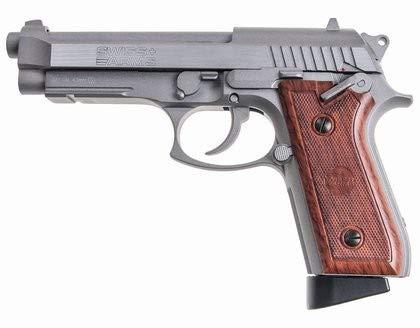 Swiss Arms-SA 92 Full Metal- E=1,6 J - 4.5 MM CO2 Blowback