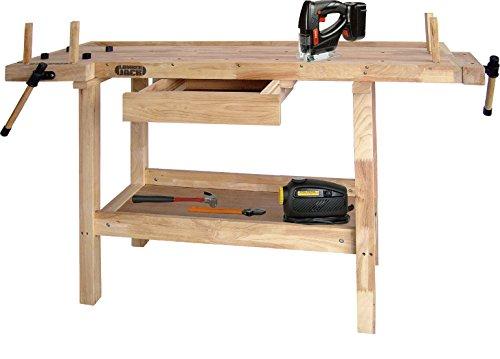 Lumberjack WB1490 - Banco para madera (1490 mm, superficie de trabajo)