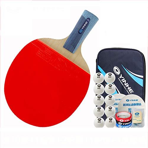 Why Should You Buy SSHHI Senior Ping Pong Racket Set,Non-Slip Handle,Professional Ping Pong Racket,H...