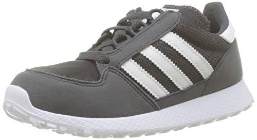 adidas Forest Grove C, Zapatillas de Gimnasia para Unisex Niños, Gris (Grey Six/Ftwr White/Grey Six), 30 EU