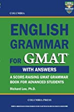 english grammar book for gmat