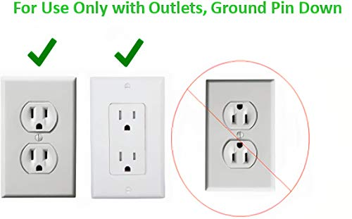 Product Image 8: Sleek Socket Ultra-Thin Electrical Outlet Cover with 3 Outlet Power Strip and Cord Management Kit, 8-Foot, Standard Size