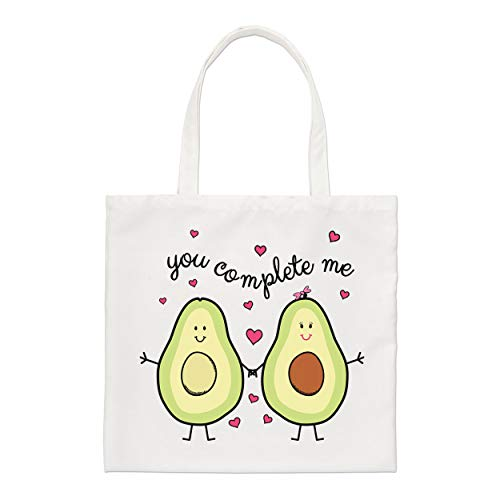 Avocado You Complete Me Regular Tragetasche