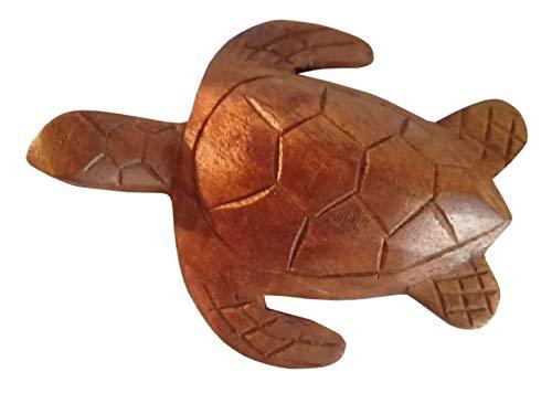 Balibarang-Shop Schildkröte Holz Tier Afrika Figur Kinder Spielzeug KTier 119