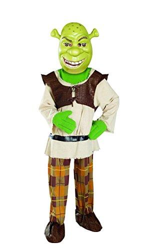 Shrek Child's Deluxe Costume And Mask, Shrek Costume