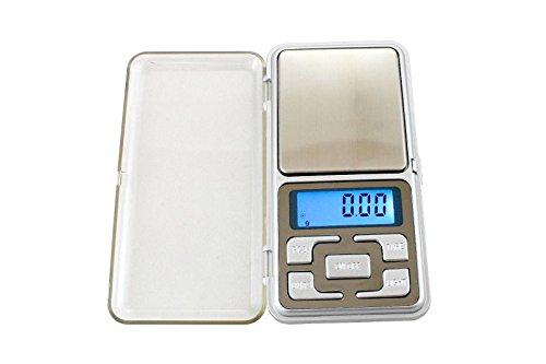 ISO TRADE Feinwaage Digital Juwelier Taschenwaage 200g/0,01g Beleuchtung Tare Abschaltung 135