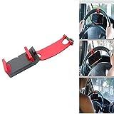 車のステアリングホイールブラケットユニバーサル車の電話のブラケット車の安全ステアリングのサポートフレームは、伸縮式ステアリングホイールのPVC