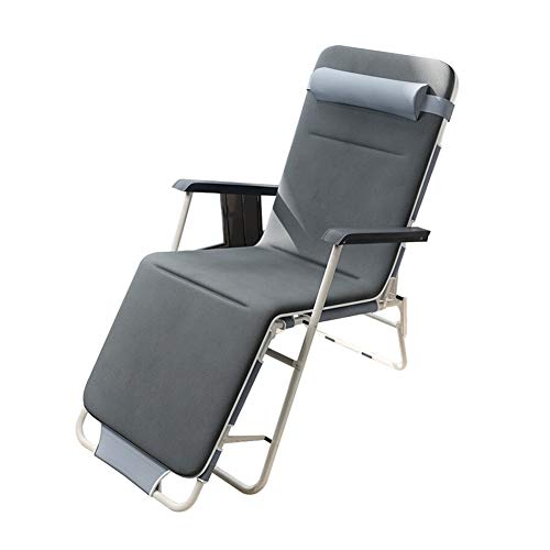 WJJ Gartenstuhl Klappstühle Deckchairs Klappstuhl Single Siesta Outdoor Strandkorb Kann for Schlafzimmer Wohnzimmer Strand Sonnenbaden verwendet Werden
