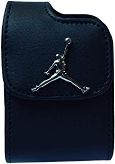 Premium 3D Jordan Pouch Case with Belt Clip for Tandem Insulin Pump (All Models: t:Slim/t:Slim G4 / t:Slim X2 / t:Flex) - SNK Retail Packaging (V1BK/JD/Silver)