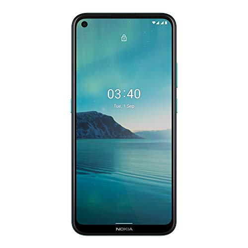 "Nokia 3.4 Smartphone 4G Dual Sim, Display 6.39"" HD+, 64GB, 4GB RAM, Tripla Camera, Android 10, Batteria 4000mAh Blue [Italia]"
